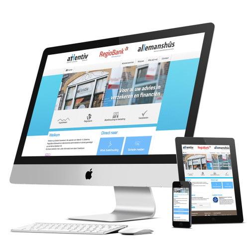 Bedrijfswebsite Attentiv