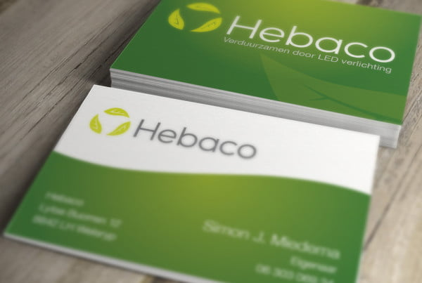 Hebaco huisstijl door deezo