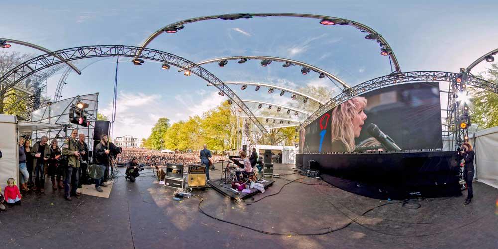 360 panorama Haarlem Pop 2015 faber av